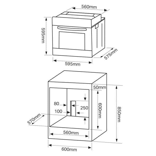 Oven 3 Bath Domestic Appliances